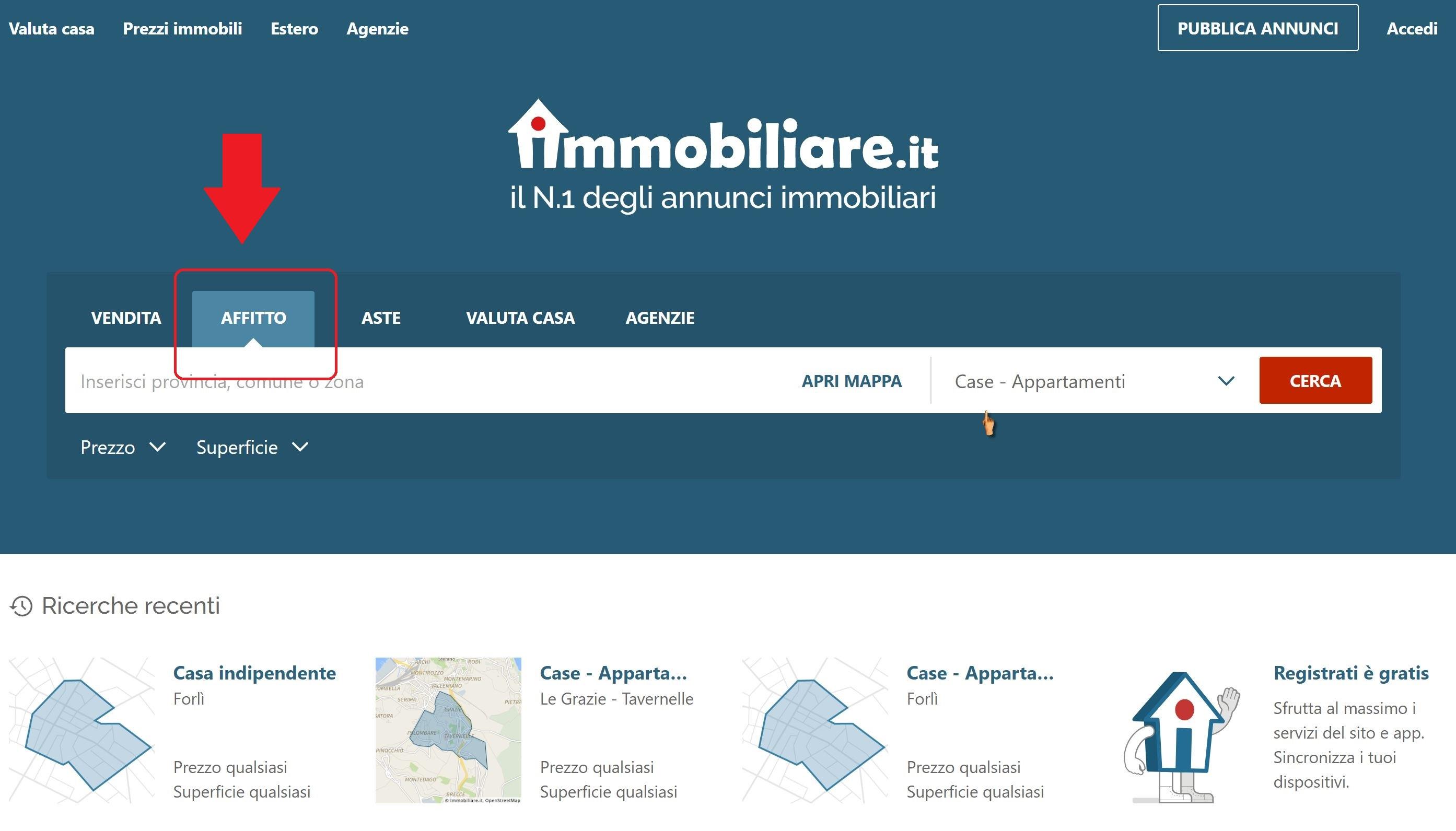 ▷ Alquileres para fijar residencia en Italia ◁ 3 ...